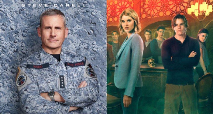 Netflix续订《太空部队》第二季!取消超自然恐怖剧集《黑秩序》