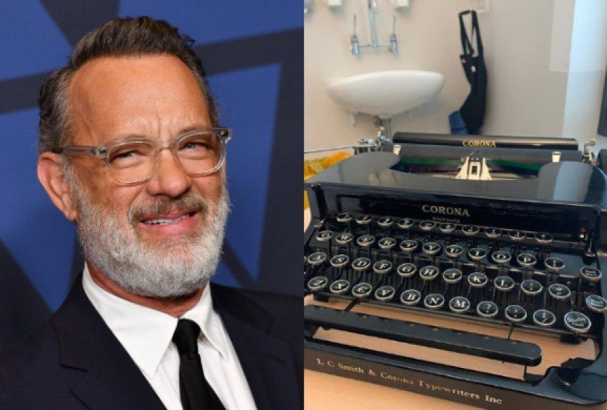 8岁男孩叫Corona被霸凌!汤姆汉克斯送同名爱最打字机:你的名字如一顶皇冠