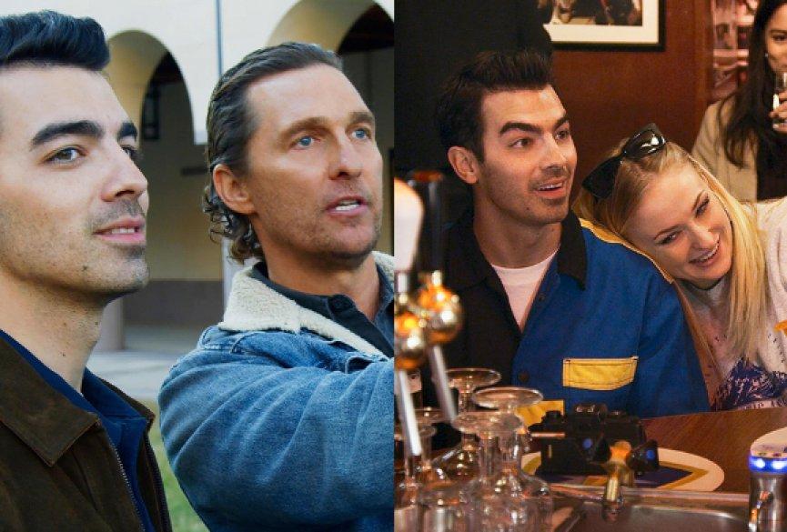 乔强纳斯打造顶级旅游实境秀《Cup of Joe》!苏菲特纳、马修麦康纳一同伴游