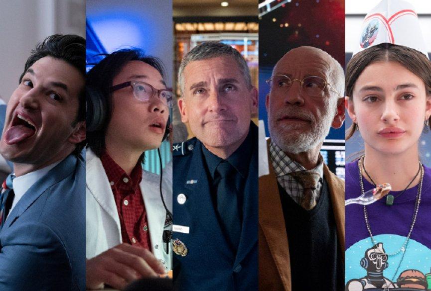 Netflix美剧《太空部队》5月上线!史提夫卡尔送军队上外太空