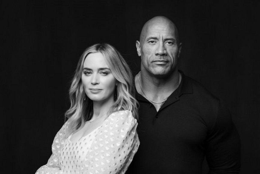 【制作】Netflix抢下电影《锁链》发行!巨石强森、艾蜜莉布朗合演超能力夫妇
