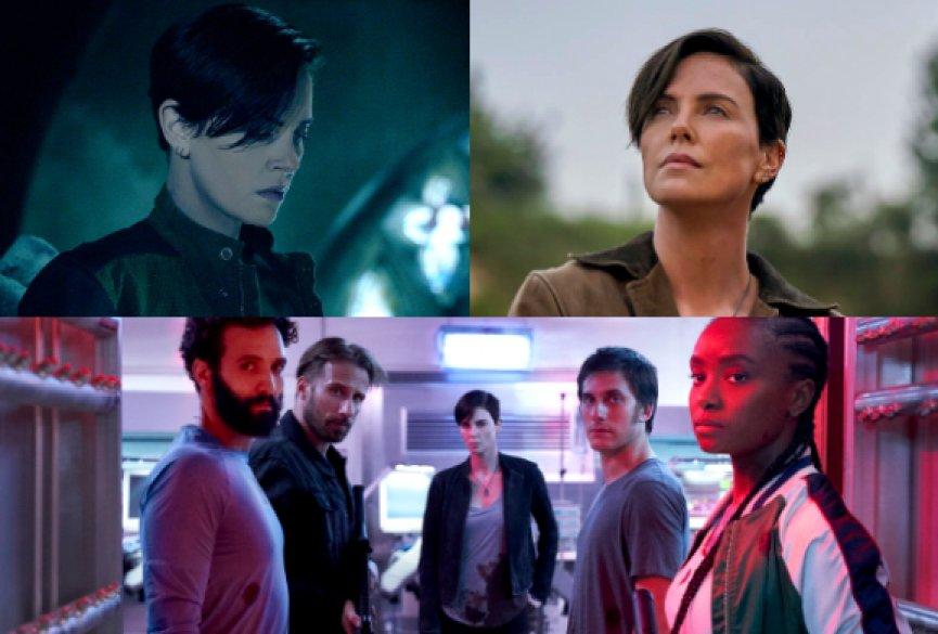 【剧照】莎莉赛隆带领《永生守卫》!Netflix奇幻动作电影7月推出