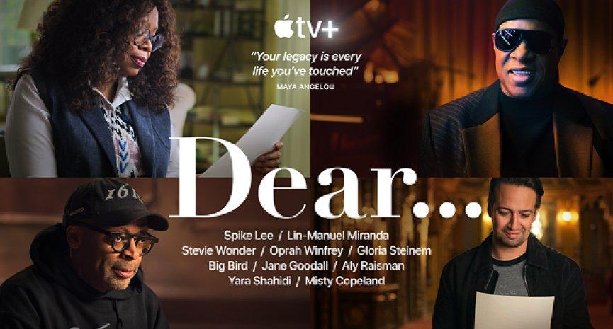 一个人的故事改变世界!Apple TV+推出全新纪录片剧集《我想对你说⋯⋯》