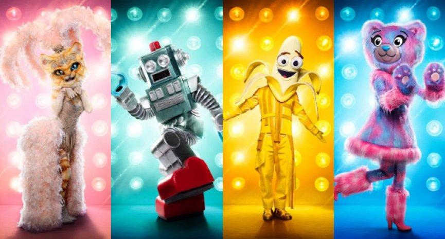 美国版《蒙面歌王》轰动全美!10大疯狂造型比歌声更吸睛