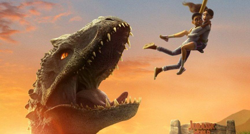 恐龙摧残整座小岛!Netflix动画剧集《侏罗纪世界:白垩冒险营》前导预告上线