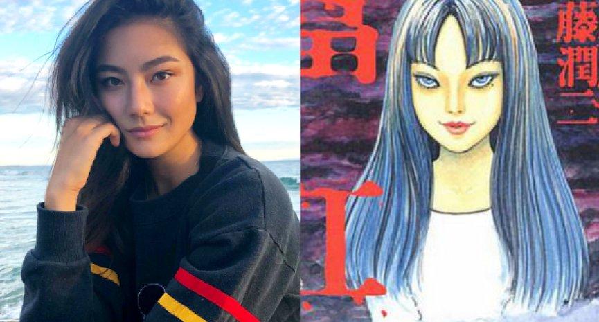 《富江》真人版剧集来了!《莎宾娜》混血女星演绎最美高校生