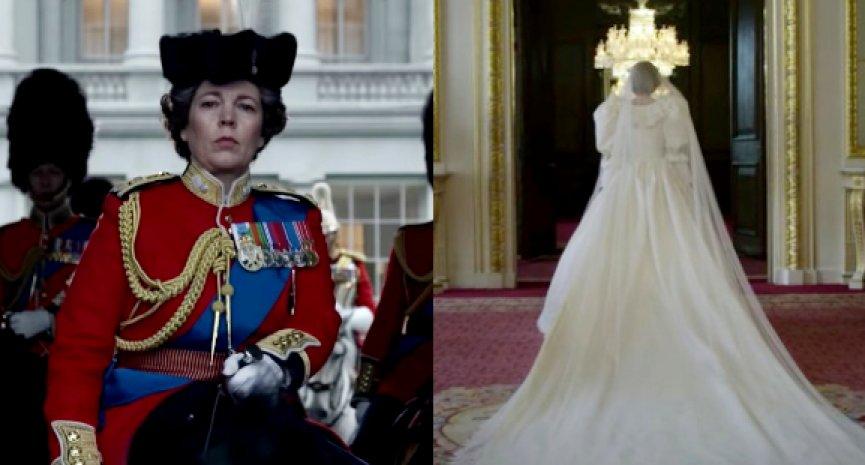 《王冠》第四季首曝预告!黛安娜王妃世纪婚礼登场