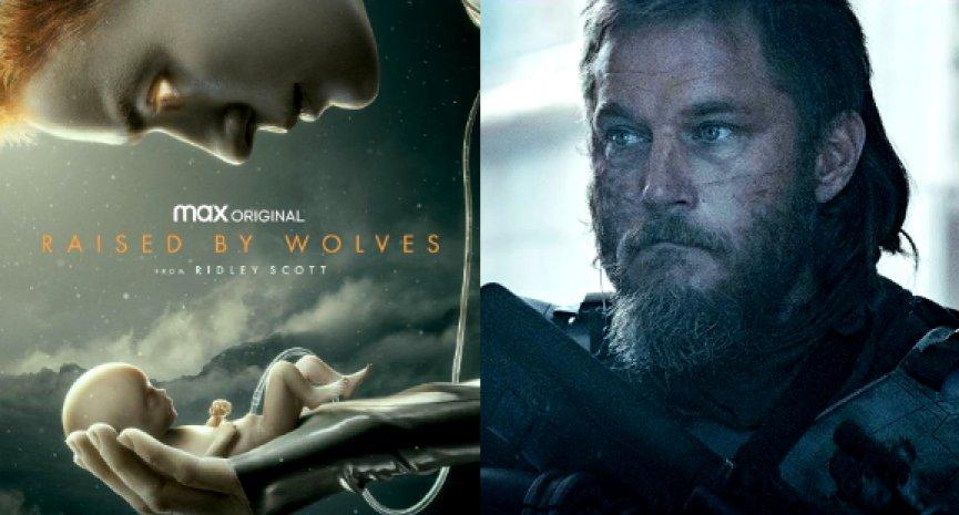 雷利史考特执导科幻美剧《Raised by Wolves》首曝预告!《维京传奇》