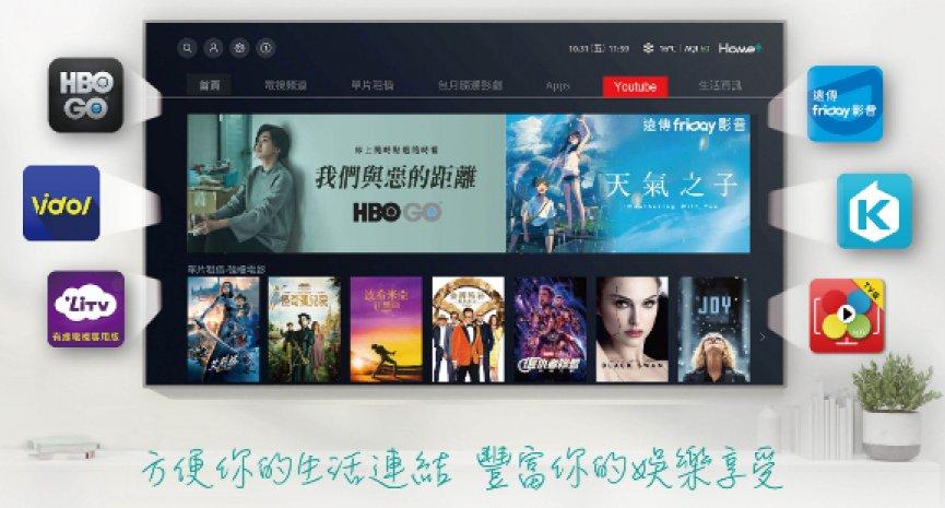Home+中嘉再添OTT盟友  HBO GO线上影音服务正式上架Home+ tv