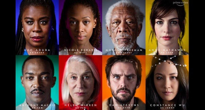 Amazon原创美剧《Solos》公开演员阵容!集结金奖得主摩根费里曼、安海瑟薇、海伦米兰